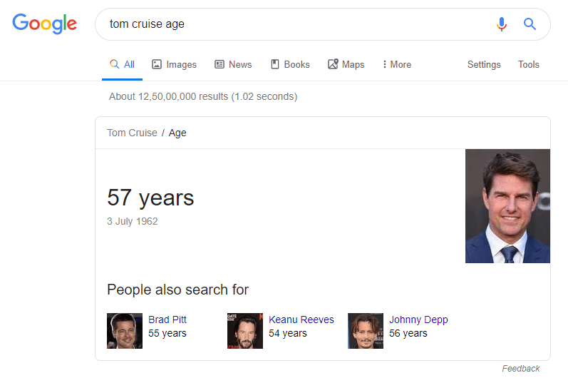 tom cruise ages