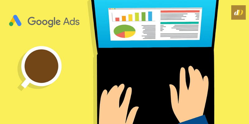 google ads reports header